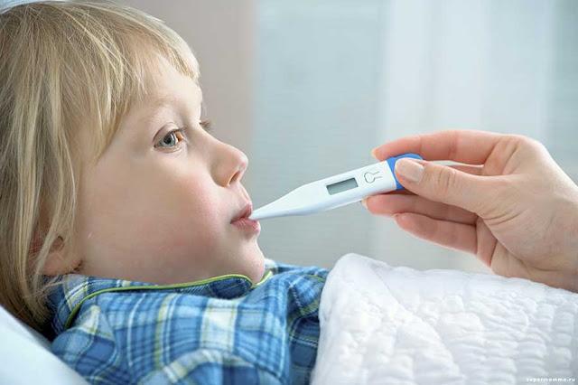 Kenali Penyakit Demam Tifoid pada Anak