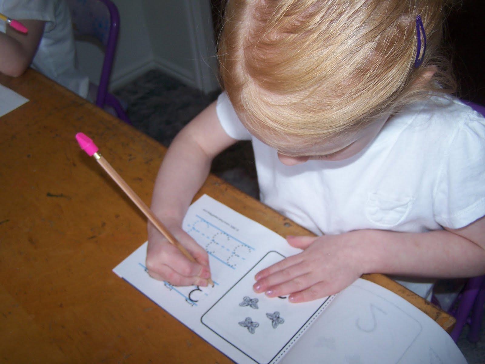 Adventures In Home Pre Schooling Busy Work