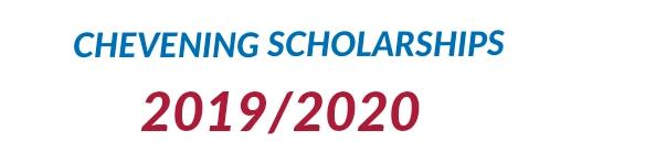 Chevening scholarships application 2019/2020
