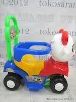 3 SHP Panda Odong-Odong Ride-on Car