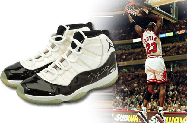 7be7f70ee91 Michael Jordan's Concord 11's From The 72-10 Season Are Being Auctioned Off