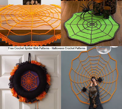 Free Crochet Spider Web Patterns