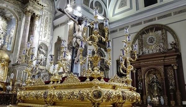 El Cristo de los Desamparados del Santo Ángel saldrá a la calle el próximo Sábado de Pasión