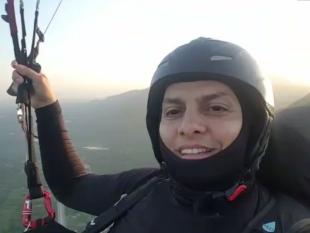Advogado morre após cair de parapente na Serra da Pacatuba