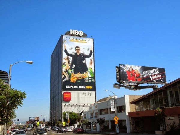 Giant Eastbound Down season 4 billboard sunset strip