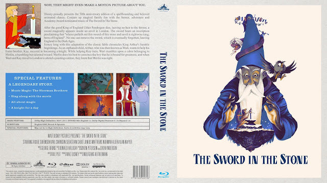 The Sword In The Stone Bluray Cover