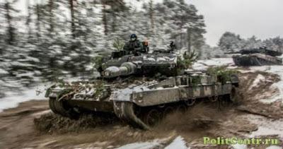 Танки грязи боятся: у бронетехники НАТО проблемы на российском направлении