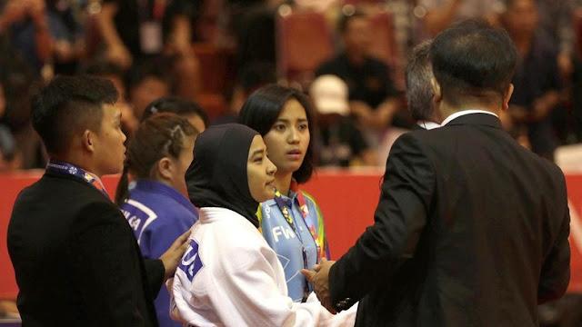 MUI Prihatin Judoka Indonesia Batal Tanding karena Pakai Jilbab