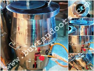 tandoor stailness steel