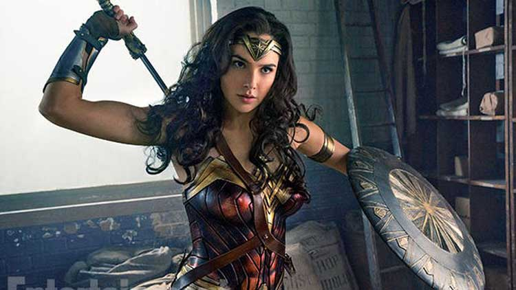 Gal Gadot stars as Diana in the Patty Jenkins movie Wonder Woman.