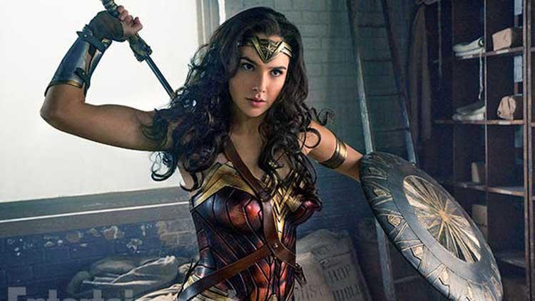 Gal Gadot stars as Diana in the Patty Jenkins movie Wonder Woman.