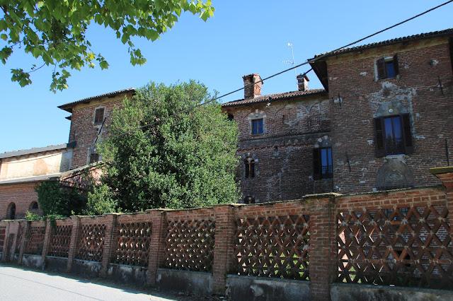 Facciata Nord del Castello di Marchierù di Villafranca Piemonte