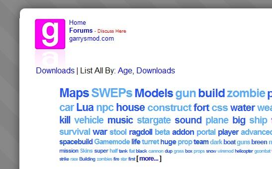 xTdub's Gmod Blog: 2011