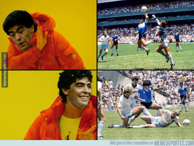 Se cumplen 31 años de los dos goles más famosos de Maradona