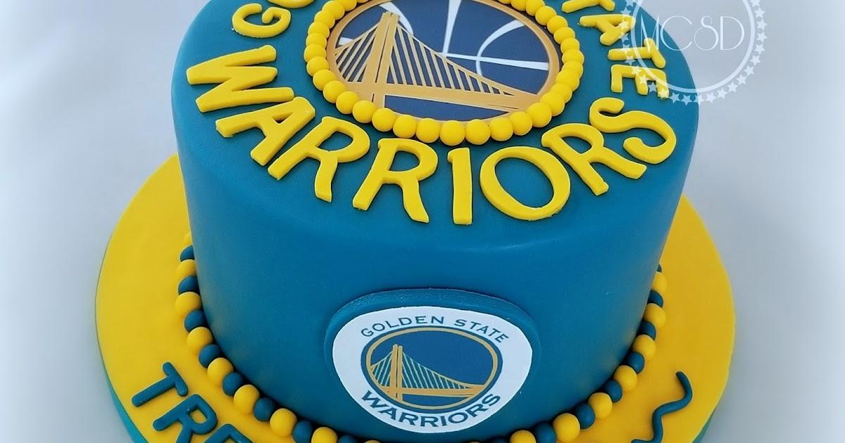 MyCakeSweetDreams: Golden State Warriors Cake