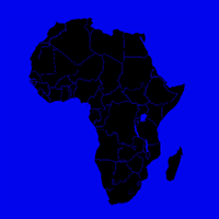 Map of Africa | DomainMondo.com