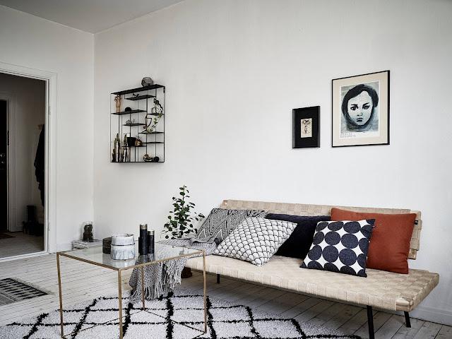 Cute nordic apartment