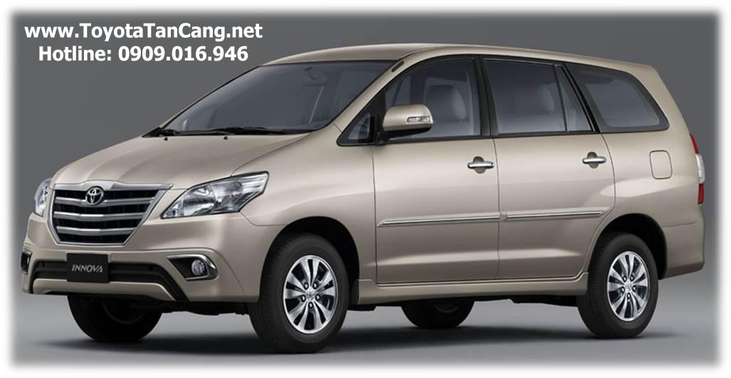 Toyota Innova 2015 mới với một số cập nhật từ tháng 03/2015