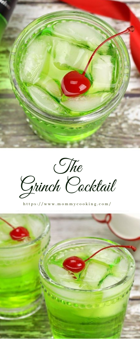 The Grinch Cocktail #coktail #recipe