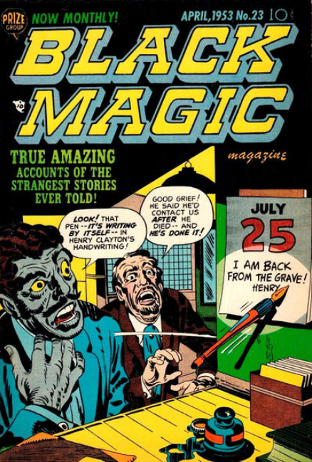 Simon-Kirby Black Magic 23