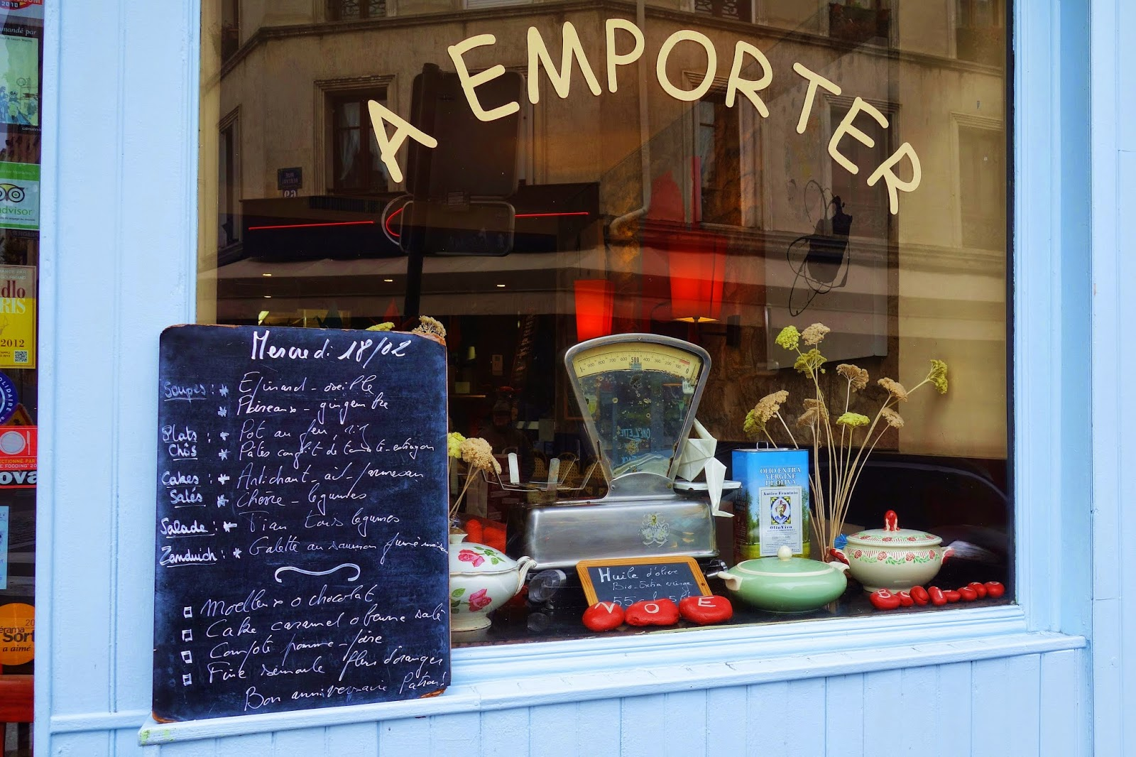 Restaurant Rue Clavel Paris
