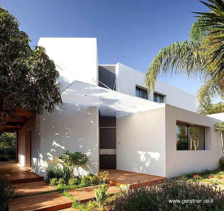 Villa AMT casa residencial moderna minimalista en Israel