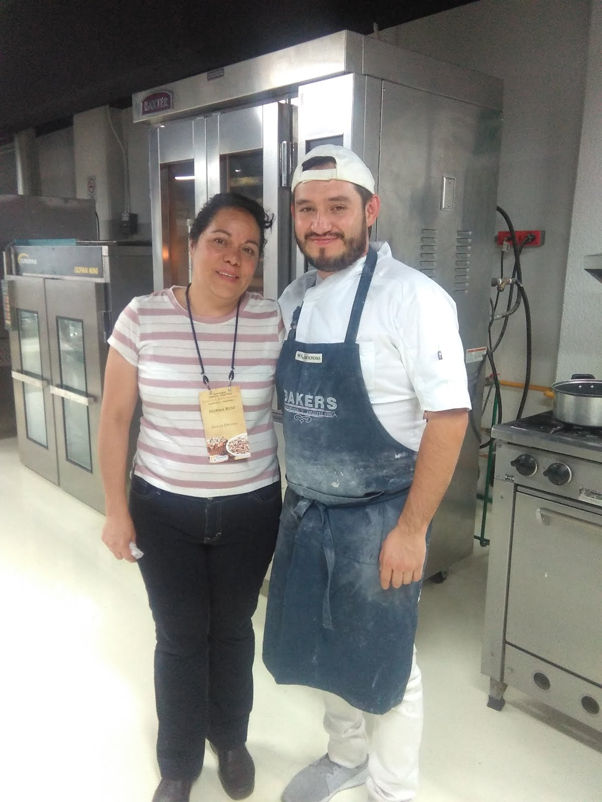 Con chef Kenny Kury