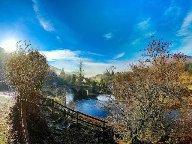 Pont romain à Menat