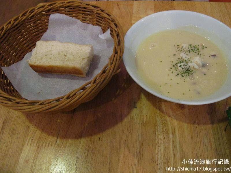 背包廚房,湯和麵包