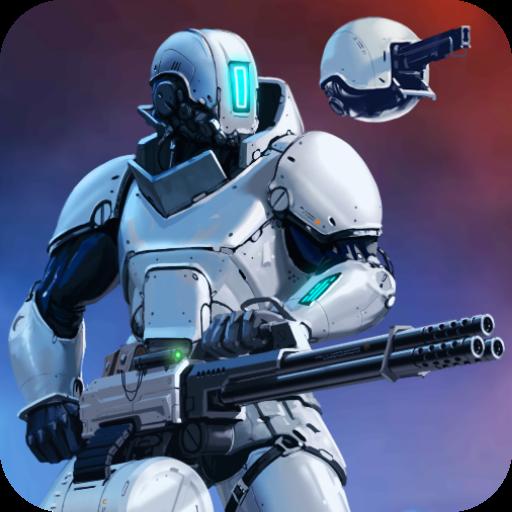 تحميل لعبه CyberSphere: Sci-fi Shooter v1.8.2 مهكره وجاهزه للاندرويد