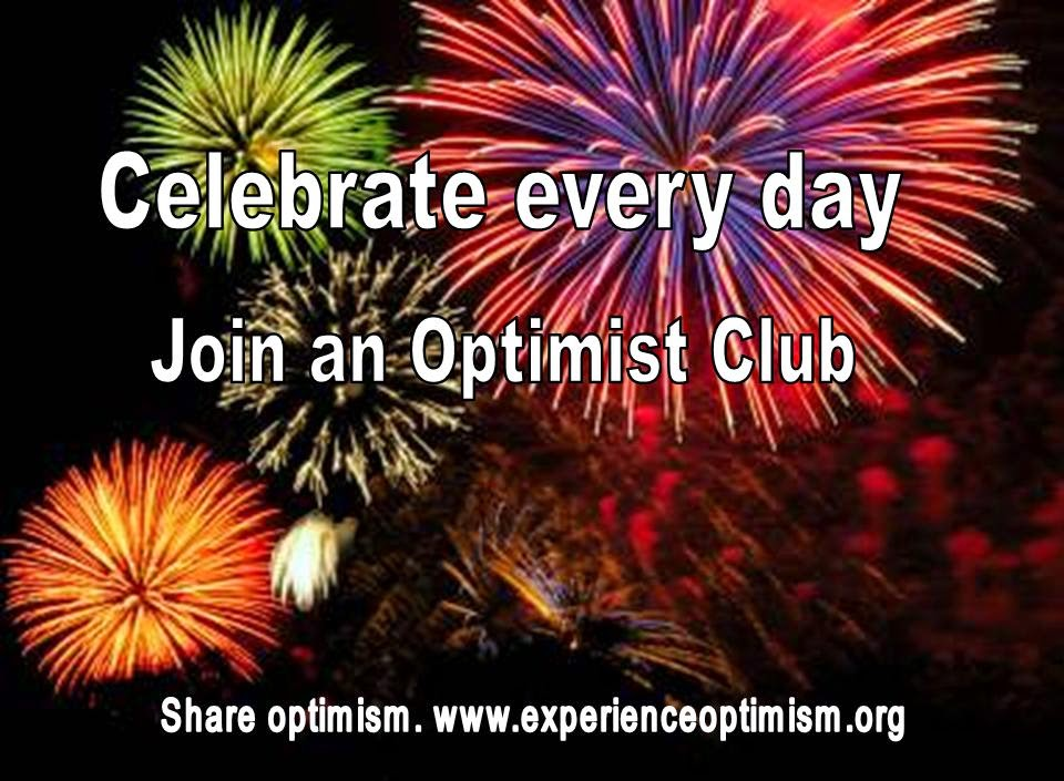 join an optimist club celebrate