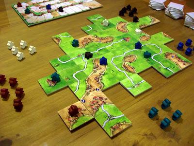El juego de mesa Carcassone online
