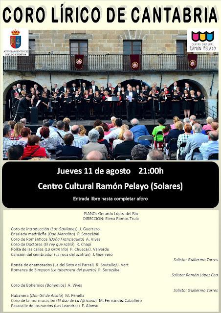 Coro Lírico de Cantabria en Solares