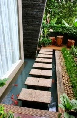 7 kunci sederhana mempercantik teras dan kolam rumah