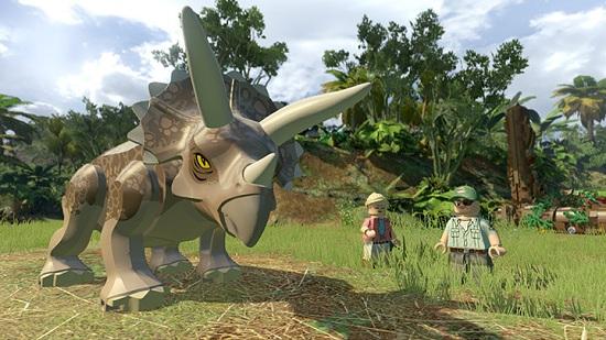 Lego Jurassic World Game