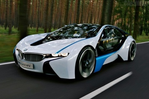 Bmw Mission Impossible Vision Efficient Dynamics Electric Concept Car Is On A Roll In The Next Tom Cruise Blockbuster Movie Iv