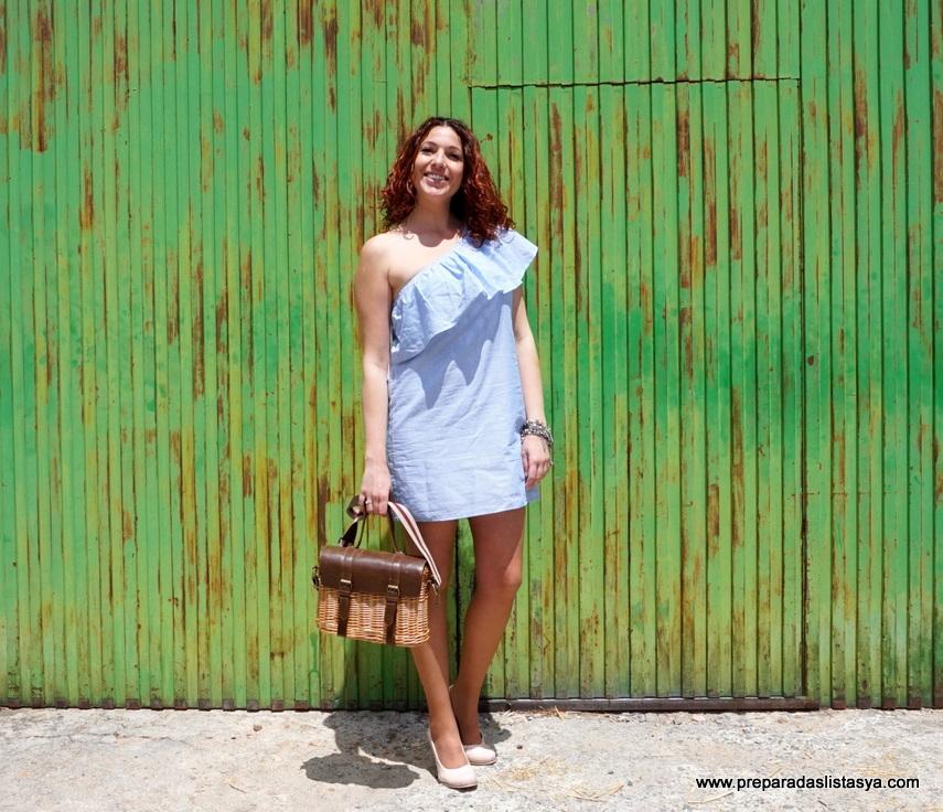 Vestidito rayas verano