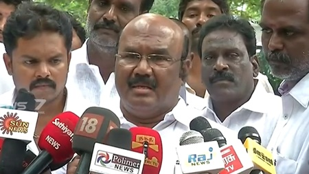 There is no reason for us to hinde dengue death cases: Minister Jayakumar