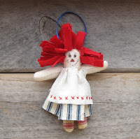 Miniature rag doll