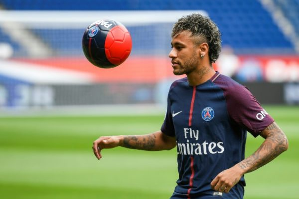 14543b77fd8 Neymar continues remarkable run with Champions League hat-trick against Red  Star