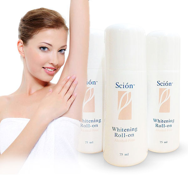 Pemutih Ketiak Scion Whitening Roll On