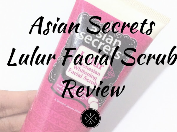 Asian Secrets Lulur Indonesian Whitening Facial Scrub Review