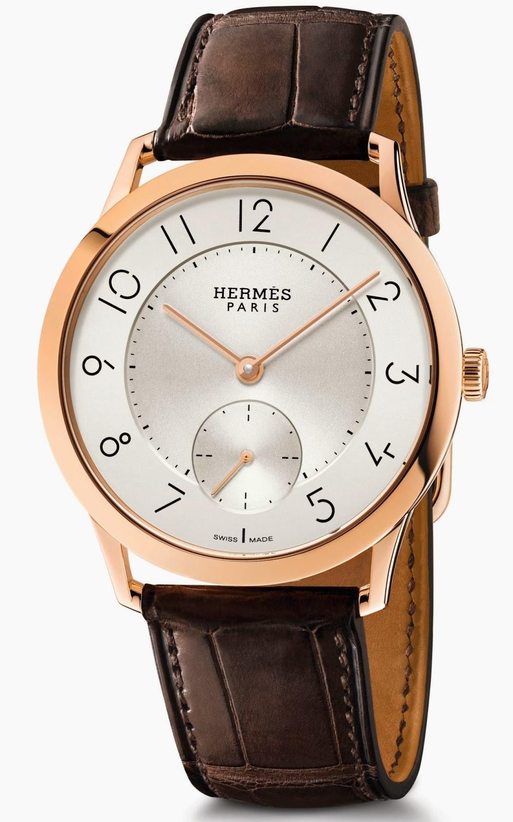 Hermès - Slim d'Hermès Petite Seconds Automatic watch
