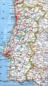 mapa estradas de portugal continental Mapas mapa estradas de portugal continental