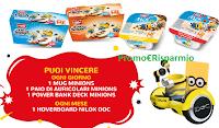 Logo ''Vinci con Muller'' Mug Minions, Power Bank e auricolari