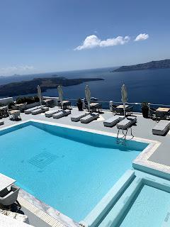 Belvedere Suites Santorini  Pool