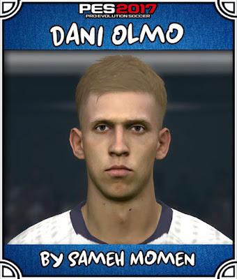 PES 2017 Dani Olmo Face by Sameh Momen