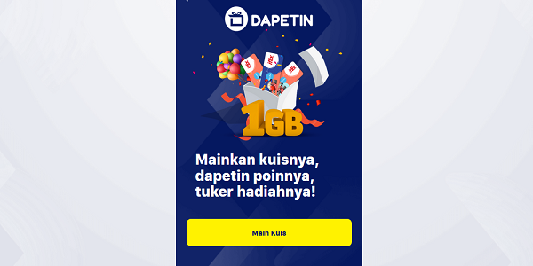 Dapetin : Cara Mendapatkan Internet Gratis XL dari Situs Dapetin