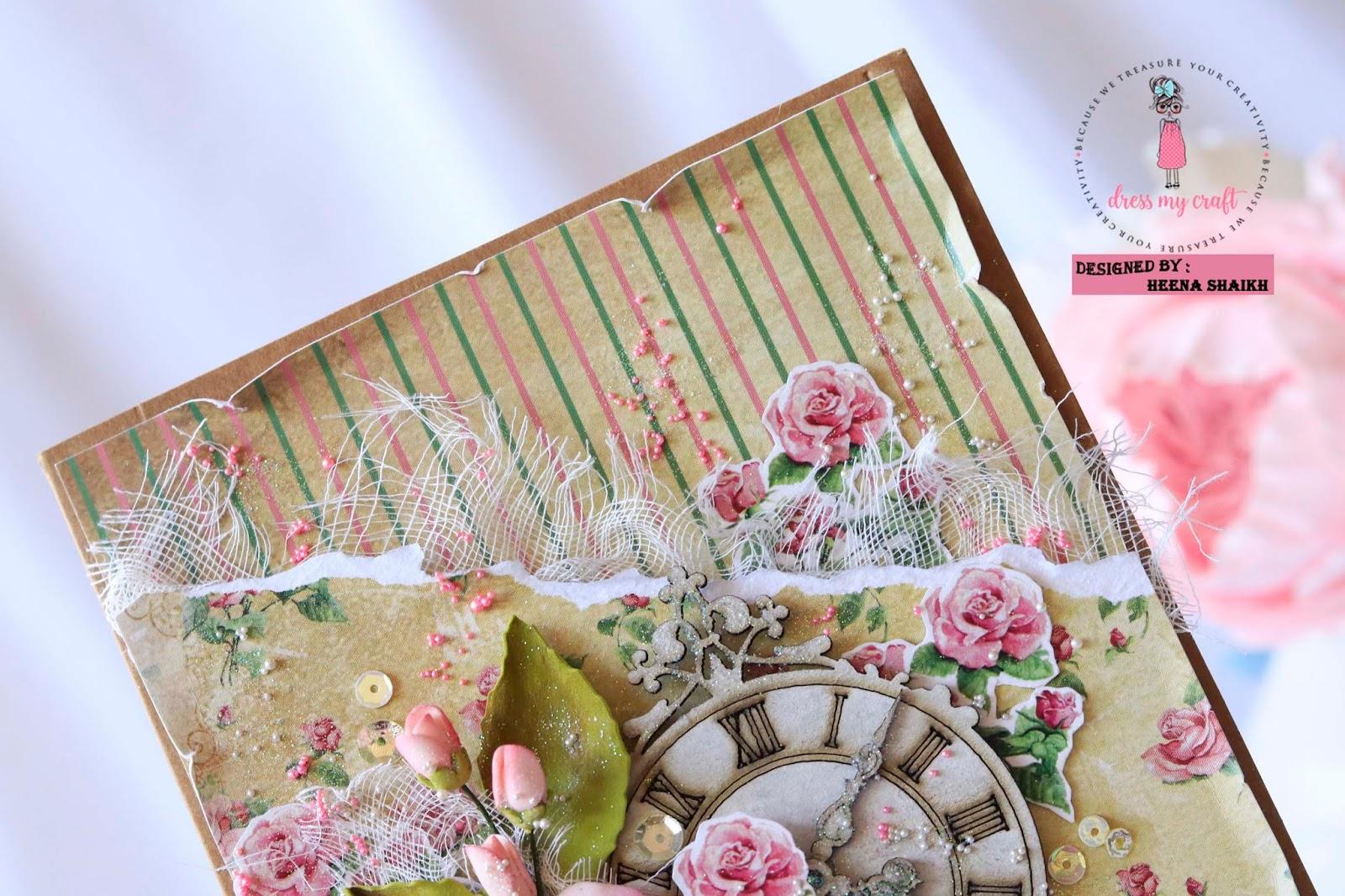 Dress My Craft: Vintage Cards with Teenie Weenie Papers and