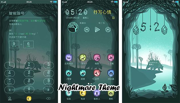 VIVO Smartphone Theme: Nightmare Theme - RQA WORLD